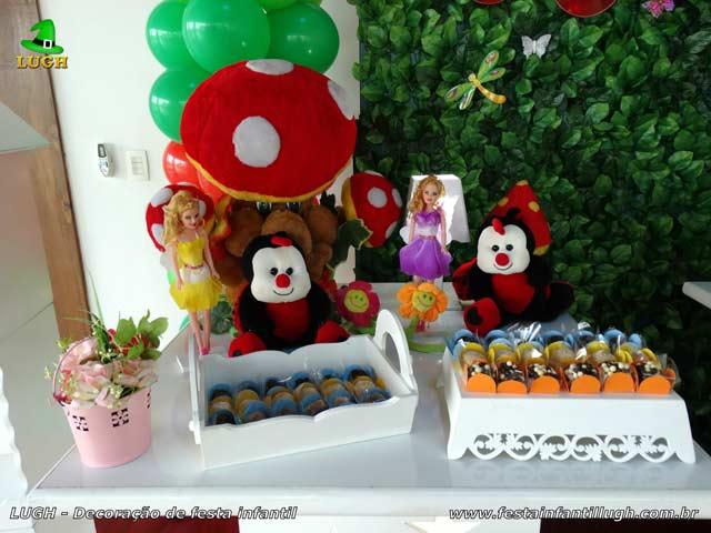 Decoração de aniversário Jardim Encantado - festa infantil de 1 ano