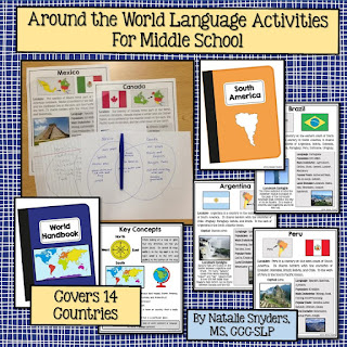 Around the World Language Activities