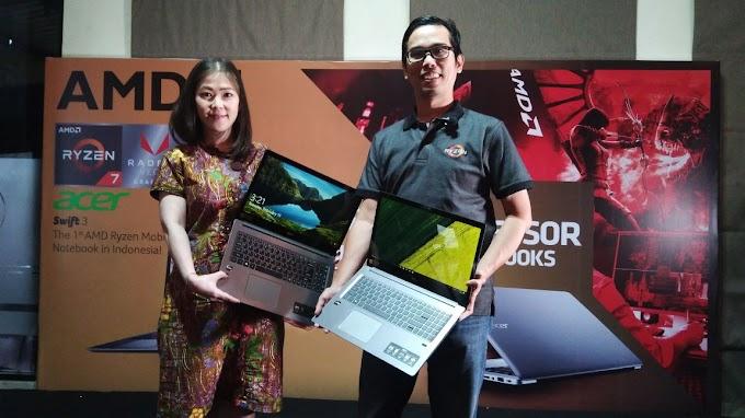First Impression : Acer Swift 3 berkekuatan Ryzen mobile