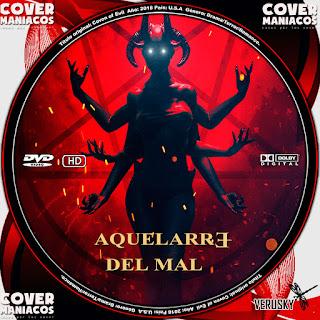 GALLETA AQUELARRE DEL MAL - COVEN OF EVIL 2018[COVER DVD]