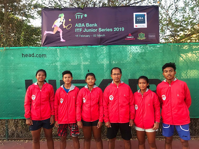 Nauvaldo dkk Berlaga di Turnamen ITF G5 Kamboja Pekan ke 2