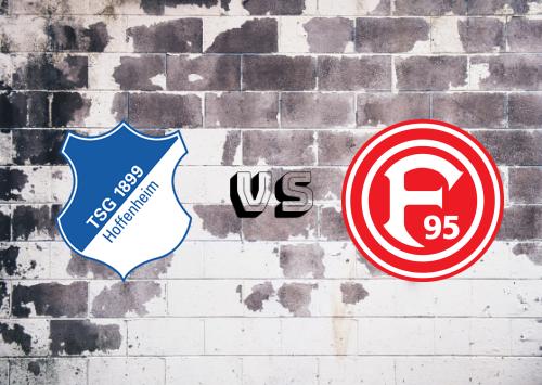 Hoffenheim vs Fortuna Düsseldorf  Resumen