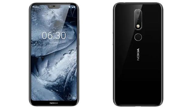 Nokia X6 phornt-back