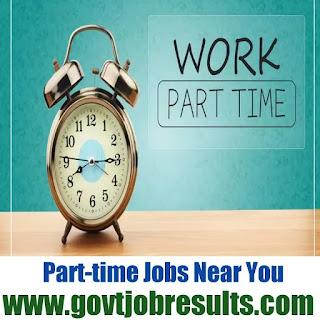 Part time jobs near me 2021
