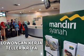 Lowongan Kerja Bank Syariah Mandiri Pontianak Kota