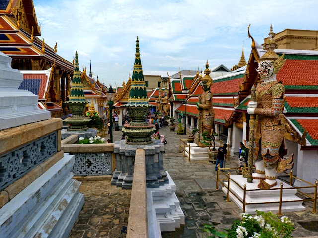 Entrada Gran Palacio de Bangkok