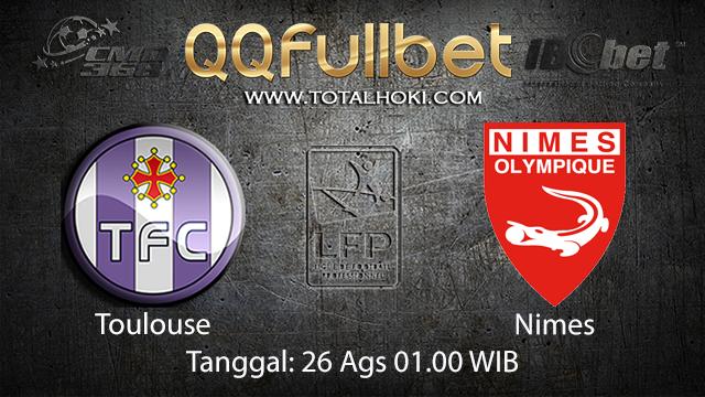 Prediksi Bola Jitu Toulouse vs Nimes ( French Ligue 1 )