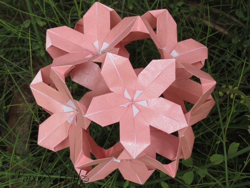 sonobe variation (Marvelous Modular Origami by MEENAKSHI MUKERJI ... | 601x800
