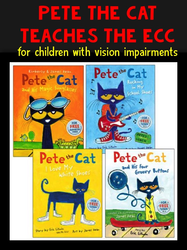 Pete the Cat for children with vision impairments