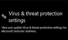 Запрет отключения Windows Defender через реестр