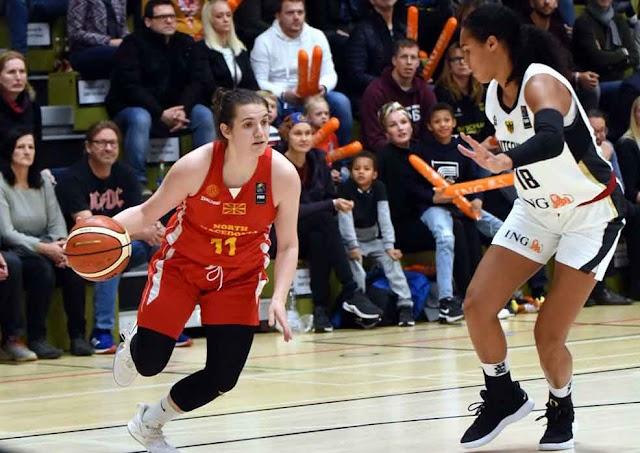 Basketball: Debakel für Mazedonierinnen in Deutschland