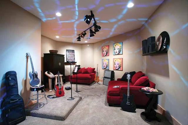 แบบห้องซ้อมดนตรี