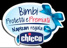 Logo Buoni sconto da 30€ o 15€ con Chicco e Napisan