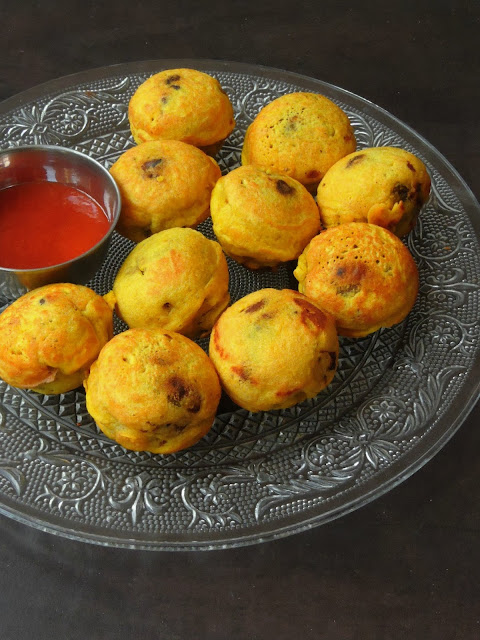 Kidneybeans & Potato Fritters