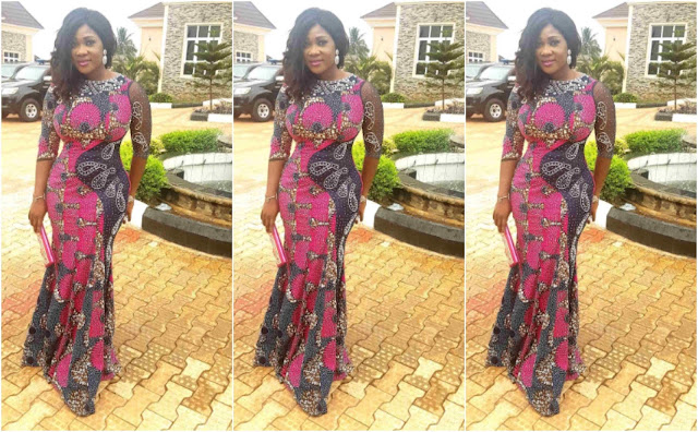 Mercy Johnson stuns for her inauguration as SSA to Kogi state governor