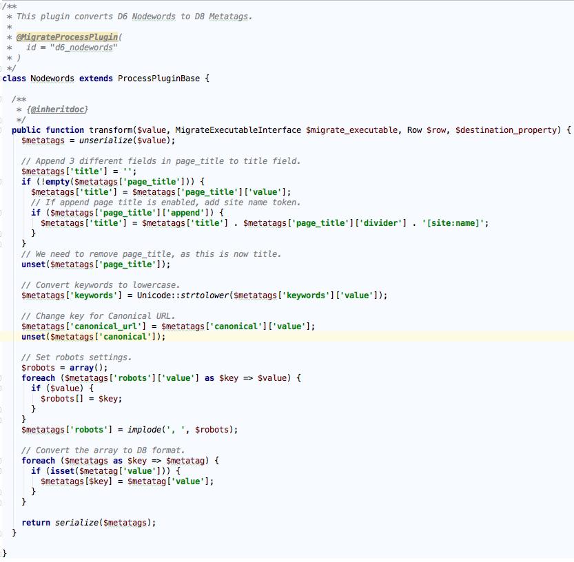 Amit Goyal: Custom MySQL Database to Drupal 8 Migration