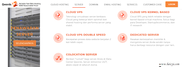 Layanan Web Server Qwords.com