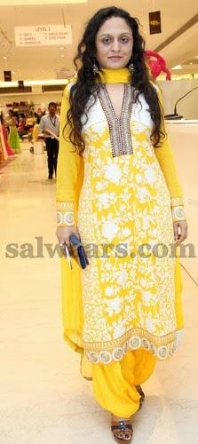 Yellow Color Neerus Salwar - Indian Dresses