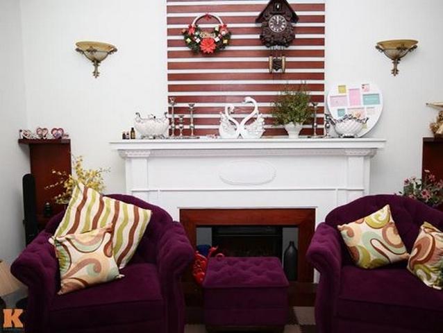 sofa đẹp của sao Việt