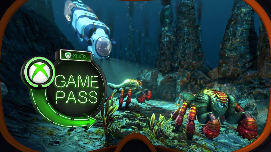 xbox game pass 2019 subnautica xb1 unknown worlds entertainment