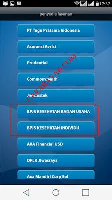 CARA BAYAR IURAN BPJS VIA M-BANKING MANDIRI