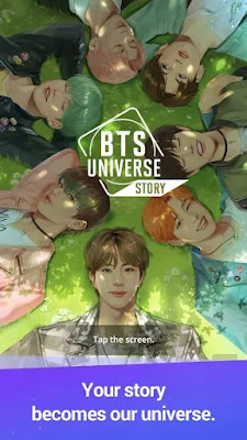 Screenshot BTS Universe Story