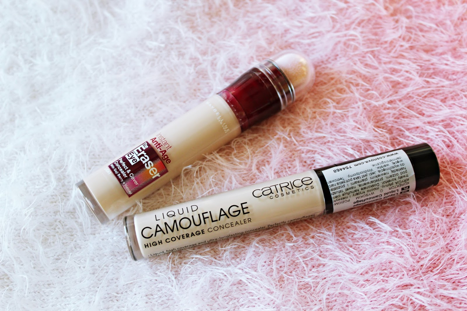 Maybelline Eraser Eye contra CATRICE Camouflage