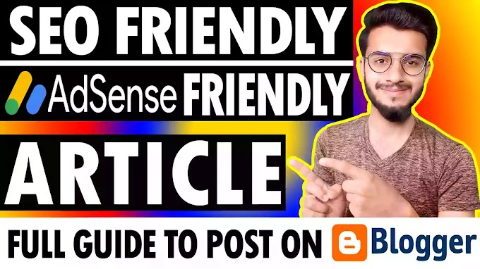 How To Write SEO Friendly Article on Blog