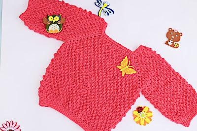 2 - Crochet Imagen Jarsey de nina a crochet muy rapido y sencillo por Majovel Crochet