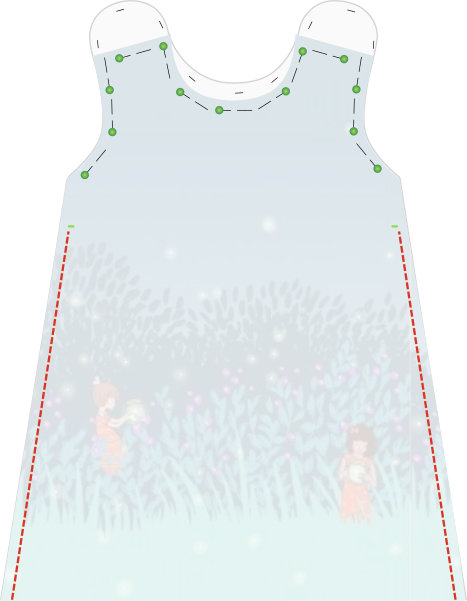 image about Free Printable Toddler Dress Patterns called very low dreamfactory: Cost-free sewing manual and behavior A-line