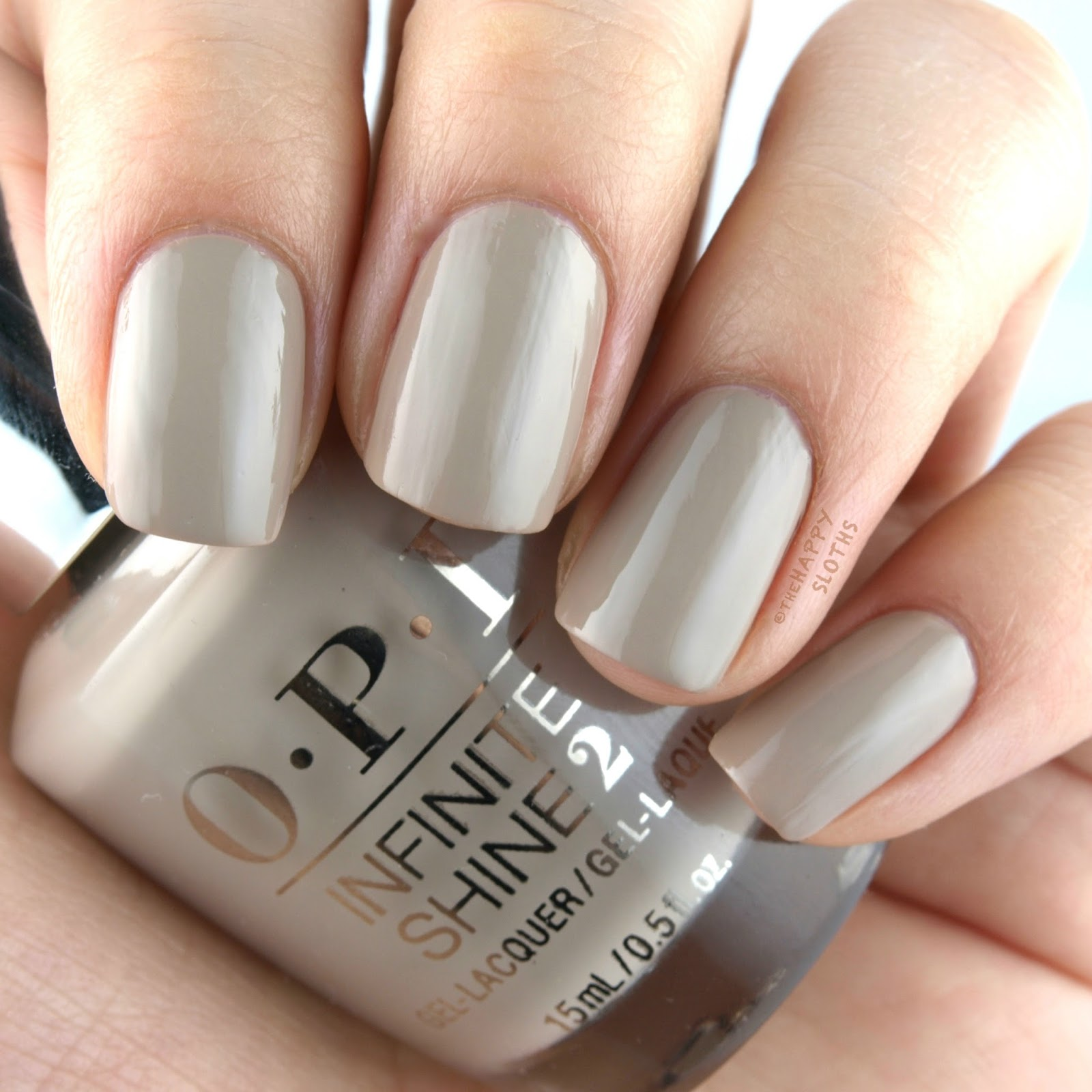OPI Fiji Coconuts Over OPI Swatches and Review