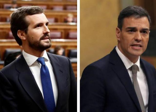 Sánchez llama a Casado para retomar la negociación de la renovación del CGPJ