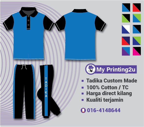 jahit uniform tadika
