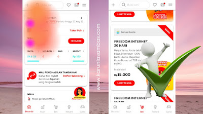 daftar paket internet indosat
