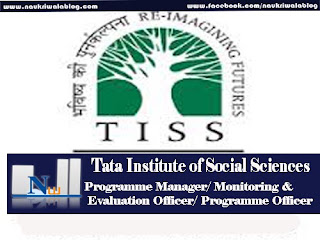Programme Manager/ Monitoring & Evaluation Officer/ Programme Officer job 2016