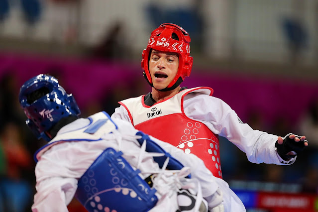 Ícaro Miguel, classificado para as Olimpíadas de Tóquio no taekwondo, foi prata no Pan de Lima 2019