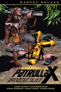 Marvel Deluxe. Lobezno y la Patrulla-X 3. Aprendizaje salvaje