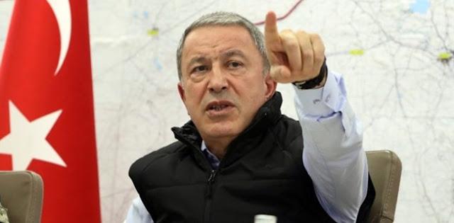 Menhan Turki Kecam Headline Berita Demokratia: Rekor Memalukan, Tanda Hitam Sejarah Pers Yunani