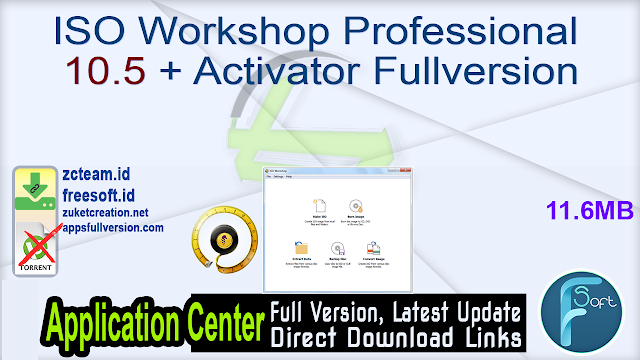 ISO Workshop Professional 10.5 + Activator Fullversion