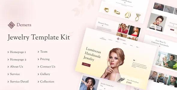 Best Jewelry Elementor Template Kit