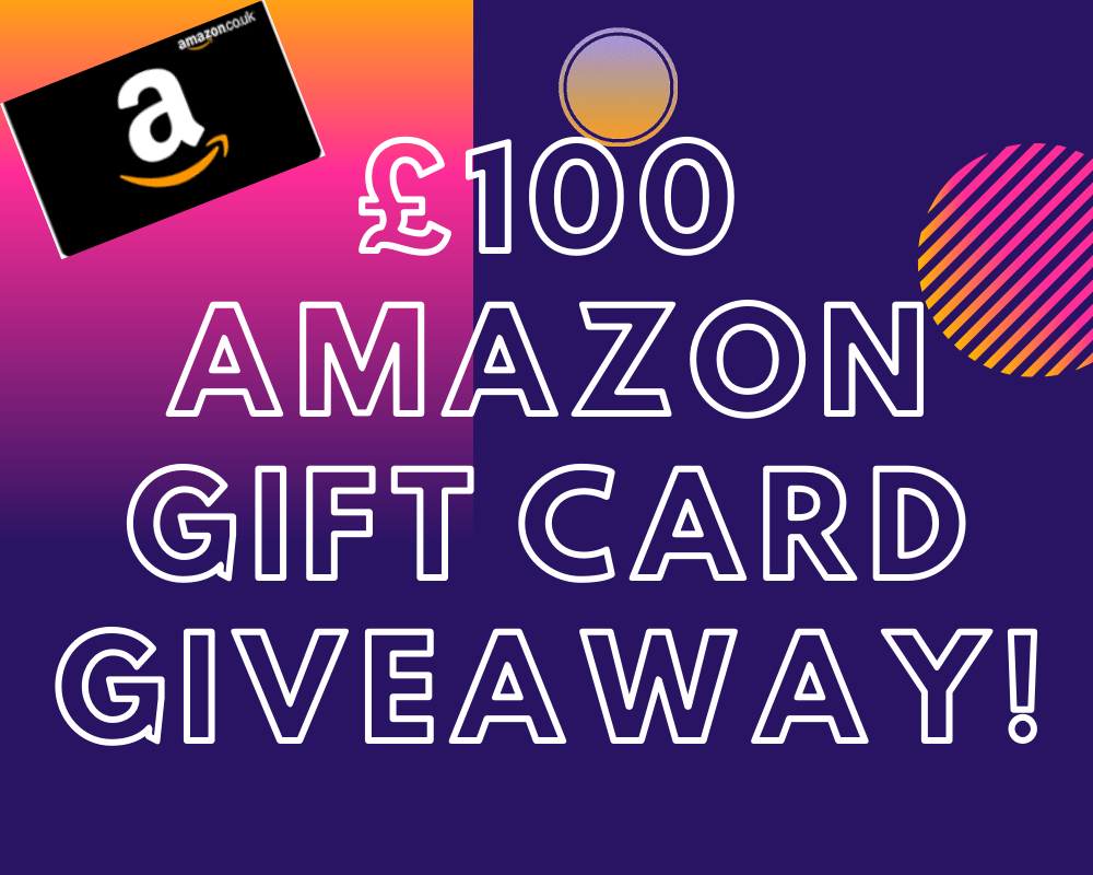 £100 Amazon Gift Card Giveaway