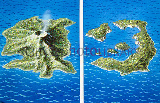Resultado de imagen de santorini volcano