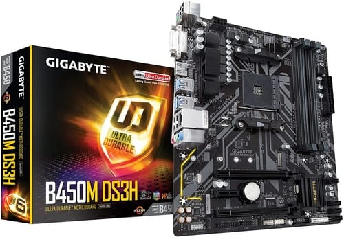 Review Gigabyte B450M DS3H Motherboard
