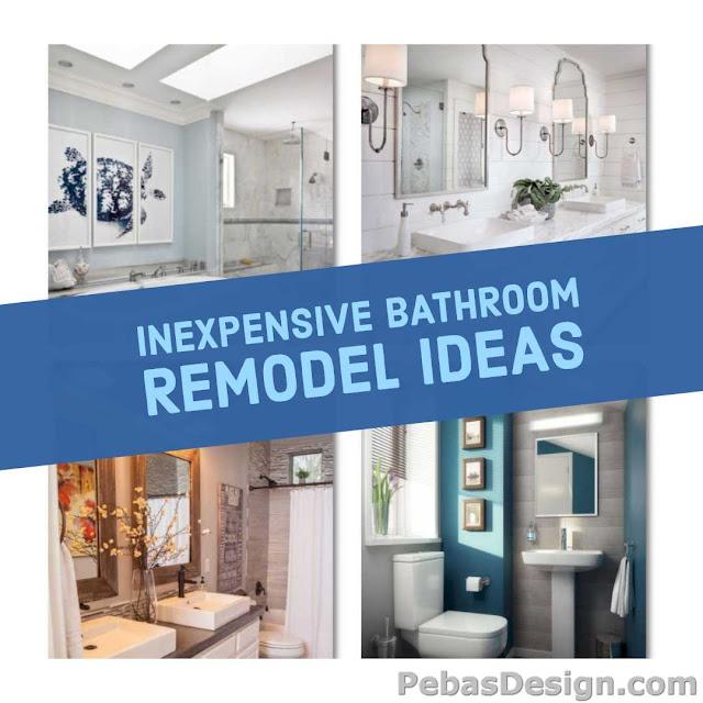 Low cost bathroom remodel ideas
