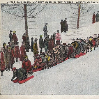 Remembering The Uncle Sam Sled Of #FarmingtonNH