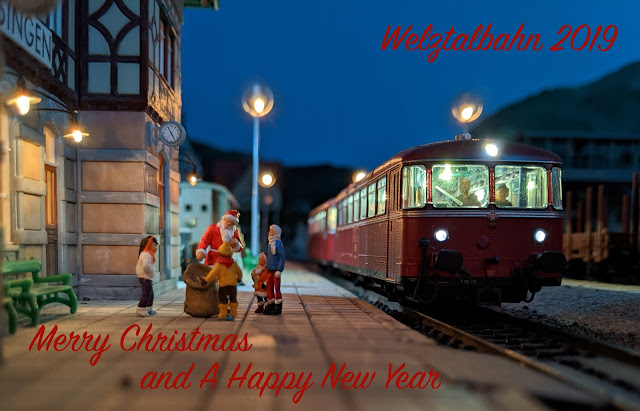 Welztalbahn 2019 - Merry Christmas and A Happy New Year
