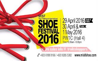 MISF Malaysia International Shoe Festival 2016