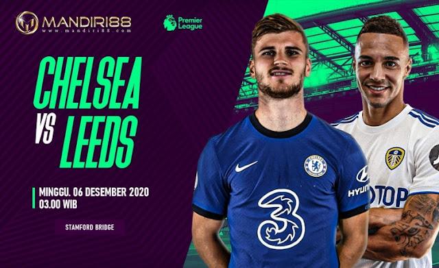 Prediksi Chelsea Vs Leeds United, Minggu 06 Desember 2020 Pukul 03.00 WIB @ Mola TV