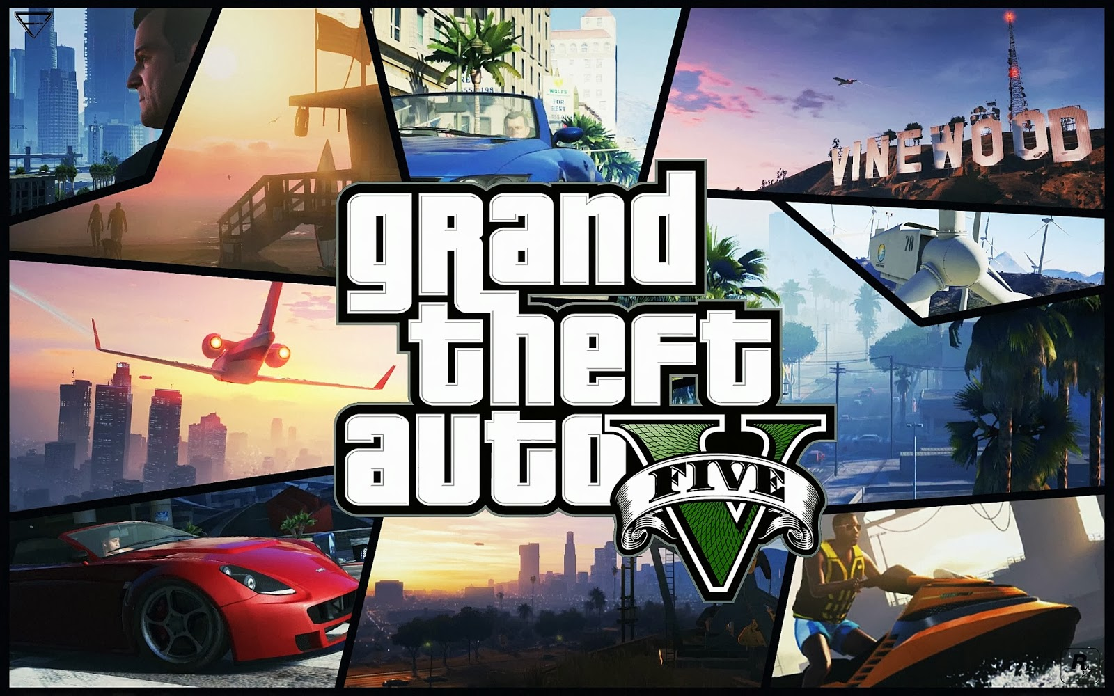 Cool GTA V HD Wallpapers 2015