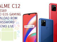 Download Stock Rom Firmware Official Realme C12 Rmx2189 Mediatek Helio G35 Gaming Processor